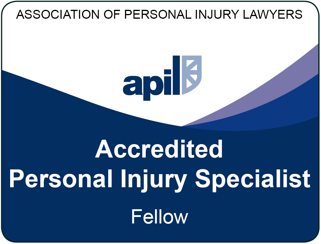 Paul Glanville is an Accredited Fellow of the Association of Personal Injury Lawyers