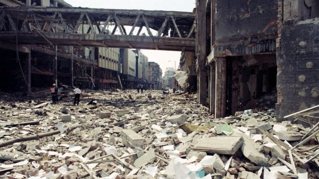 Manchester Arndale Bomb 1996