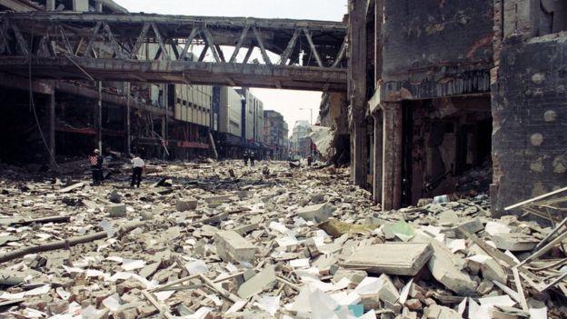 Manchester Arndale Bomb 1996
