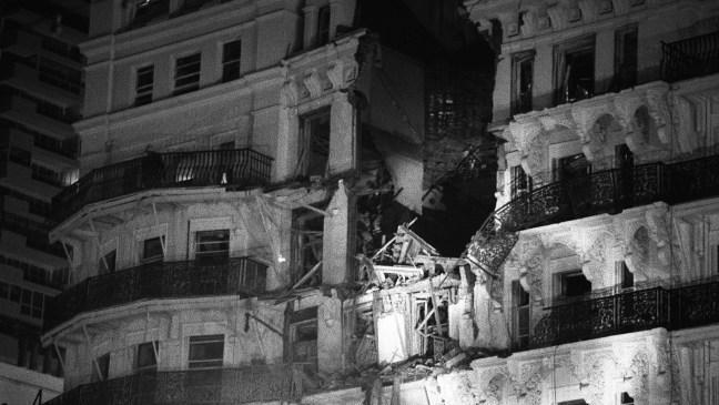 Brighton Hotel bomb 1984