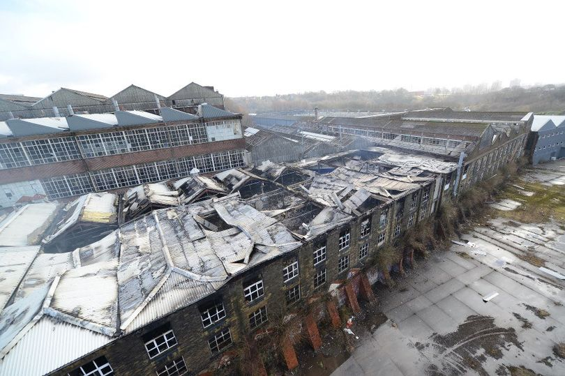 Turner Brothers Asbestos Rochdale Image Following Fire