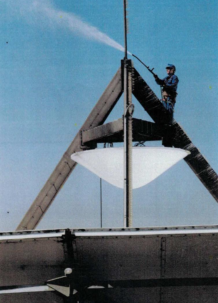British Telecom Aerial Rigger