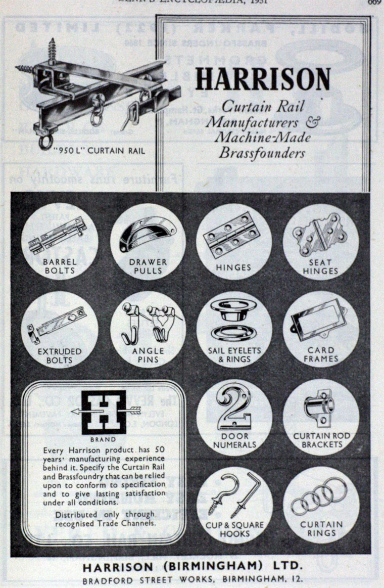 Harrison Birmingham Advert